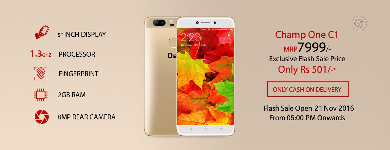 ChampOne C1 Smartphone Flash Sale