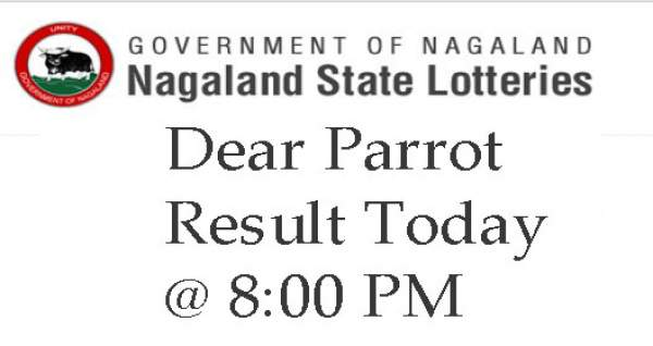 Nagaland Lottery Dear Parrot Evening Results 22nd January 2019: Winners To Be Announced At 8pm Today