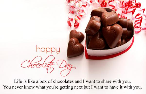 happy chocolate day 2019 quotes, messages, wishes, status, greetings, sms, shayari