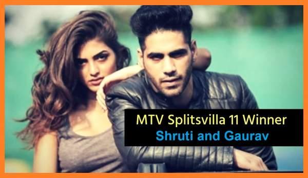 mtv splitsvilla 11 winner