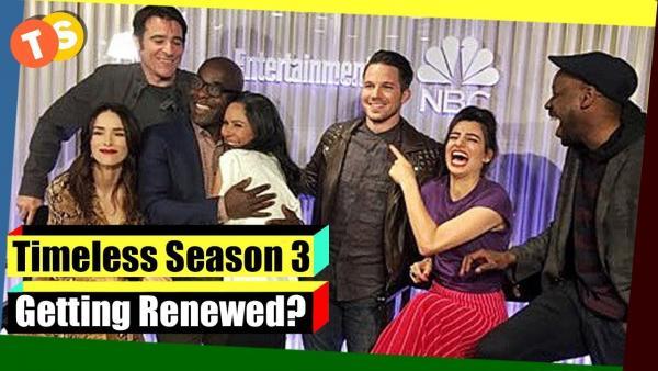 Timeless season 3 release date