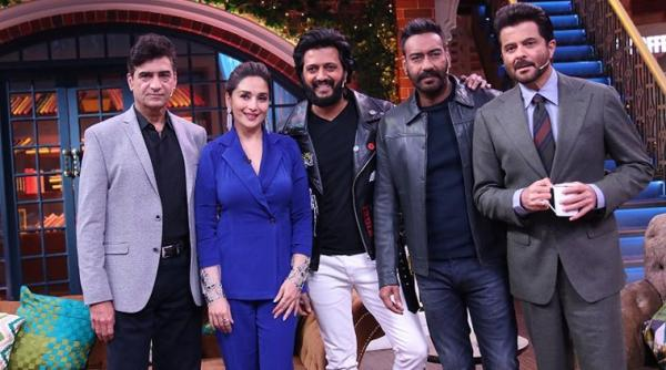 The Kapil Sharma Show 16th February 2019: Total Dhamaal Promotion With Madhuri Dixit, Anil Kapoor, Riteish Deshmukh, Ajay Devgn
