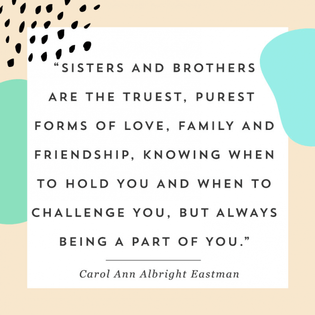 National Siblings Day 2019 Quotes & Wishes: Brother-Sister ...