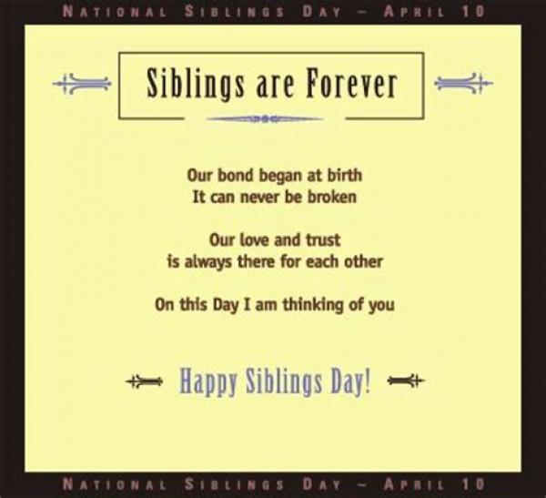 national siblings day quotes, wishes, images brother sister messages